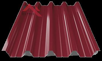 профнастил пк-57 глянцевый спелая вишня 3005