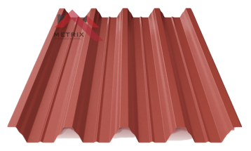 профнастил пк-57 матовый ярко красный 3011