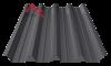 профнастил пк-57 матовый черный 9005